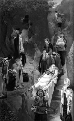 Я. Чермак. «Раненый черногорец». Вариант 1874. Национальная галерея. Прага. Чермак Ярослав.