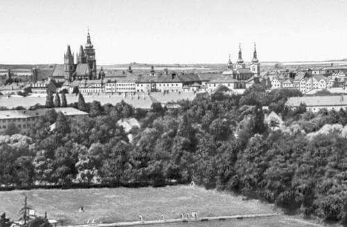 Чехословакия. Градец-Кралове. Чехословакия.