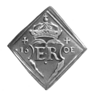 Серебряная монета сер. 16 в. Швеция.