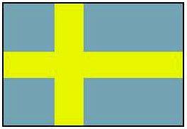 Швеция. Флаг государственный. Швеция.