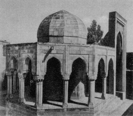 Здание Диван-хане во Дворце Ширваншахов в Баку. 15 в. Ширваншахов дворец.