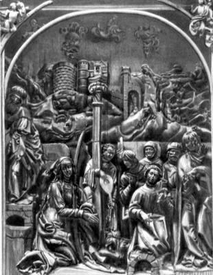 Штос Ф. «Рождество Христово» (часть алтаря в Бамбергском соборе). 1520—23. Дерево. Штос Фейт.