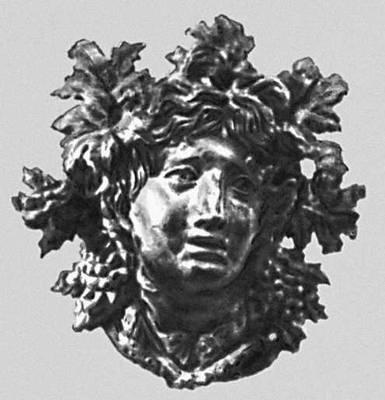 Эллинистическая культура. Голова Диониса из Хатры. Бронза. 1 в. до н. э. Иракский музей. Багдад. Эллинистическая культура.