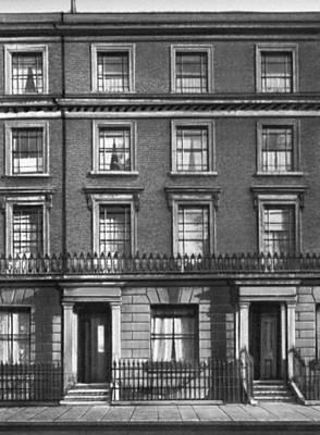 Дом в Лондоне, где жил Ф. Энгельс в 1870—94. Энгельс Фридрих.