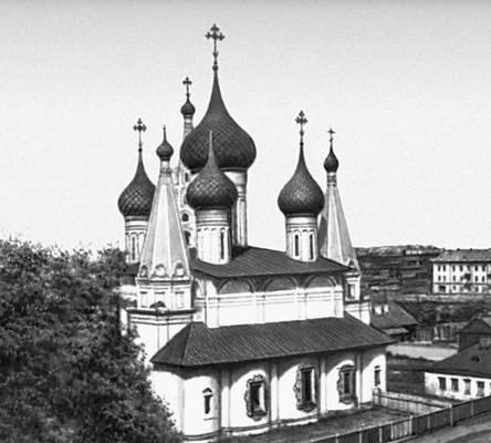 Ярославль. Церковь Николы Мокрого. 1665—72. Ярославль.