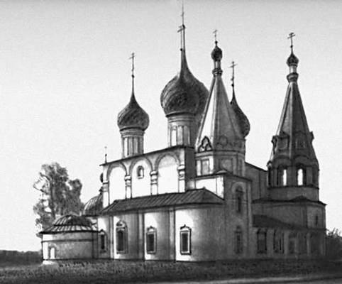 Ярославль. Церковь Спаса на Городу. 1672. Ярославль.