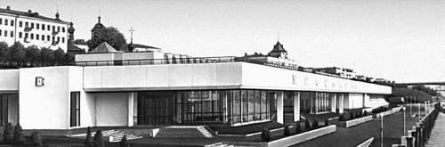 Ярославль. Речной вокзал. 1976. Архитектор Т. П. Садовский. Ярославль.