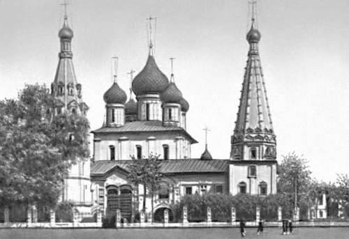 Ярославль. Церковь Ильи Пророка. 1647—50. Ярославль.