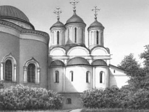 Ярославль. Спасо-Преображенский собор (1506—16, перестраивался). Ярославль.